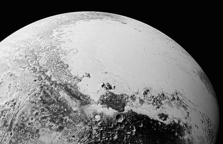 Immagine di Sputnik Planitia (NASA)