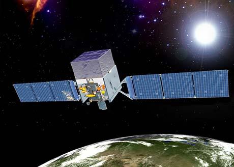 Illustrazione del telescopio spaziale Fermi (Credit NASA/Goddard Space Flight Center)