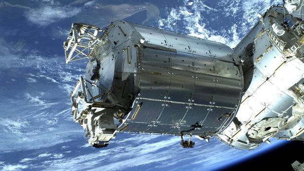 Laboratorio spaziale europeo Columbus dove verrà installato ACES
