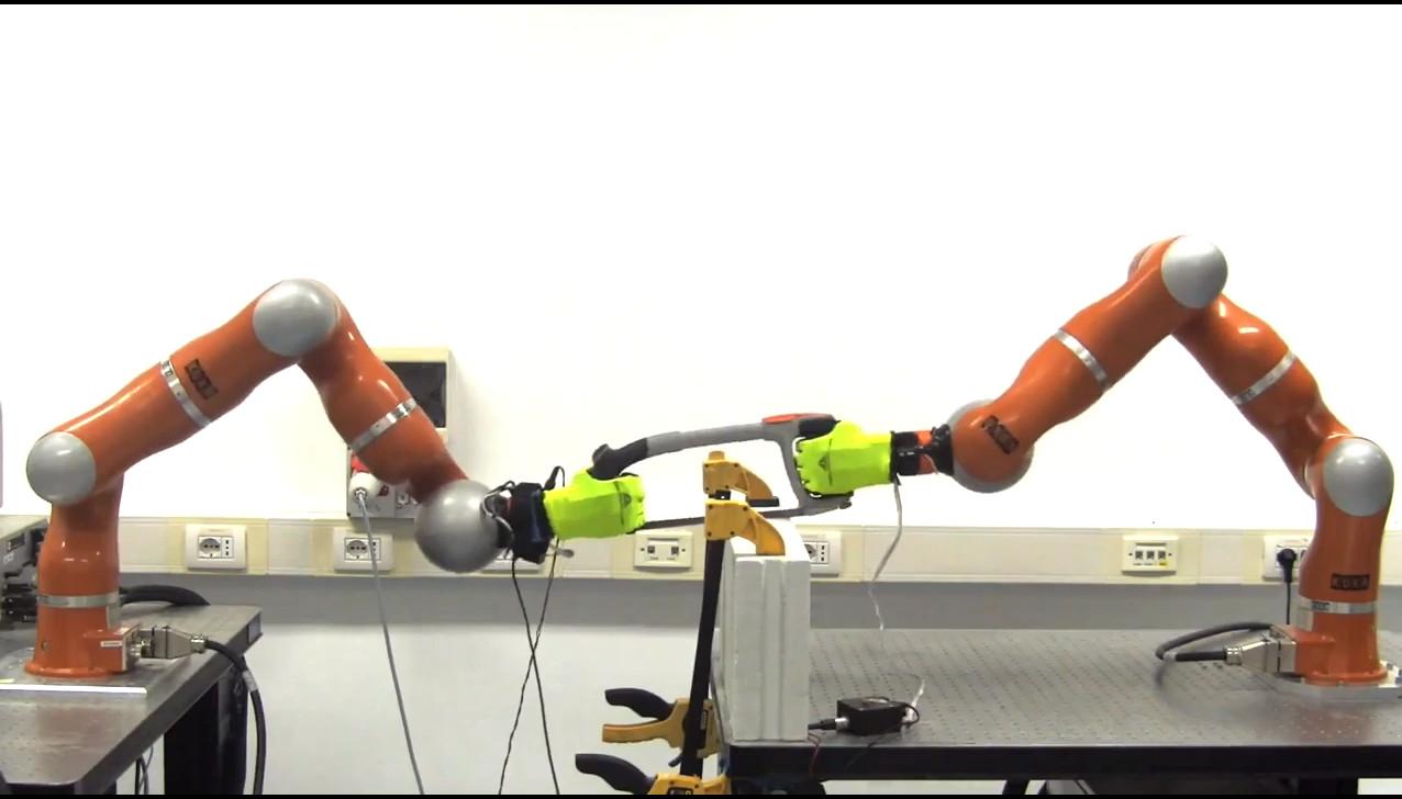 Braccia robotiche intelligenti per alleggerire i lavori pesanti