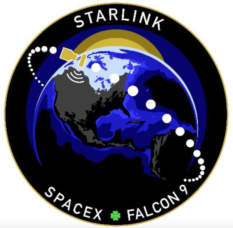 SpaceX ha lanciato in orbita con successo lo Starlink