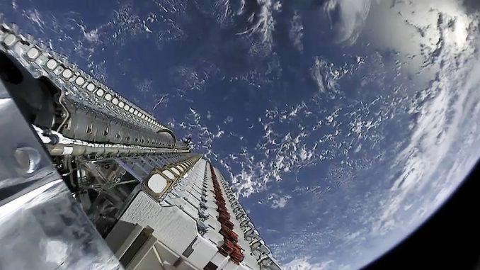 Le immagini dallo spazio Starlink