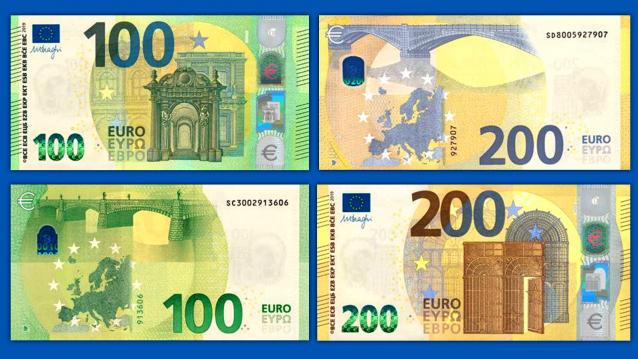 Sono entrate in circolazione le nuove banconote di taglio alto