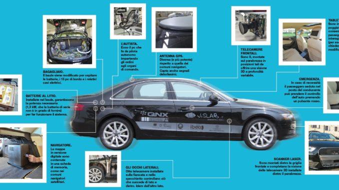 Al via la sperimentazione delle auto italiane a guida autonoma