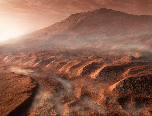 Le nubi marziane confermano la presenza di acqua su Marte