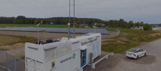 In Svezia le prime stazioni di rifornimento di idrogeno solare