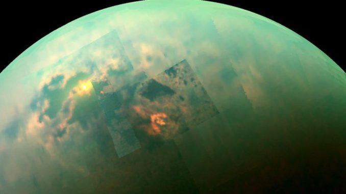 Titano la luna di Saturno