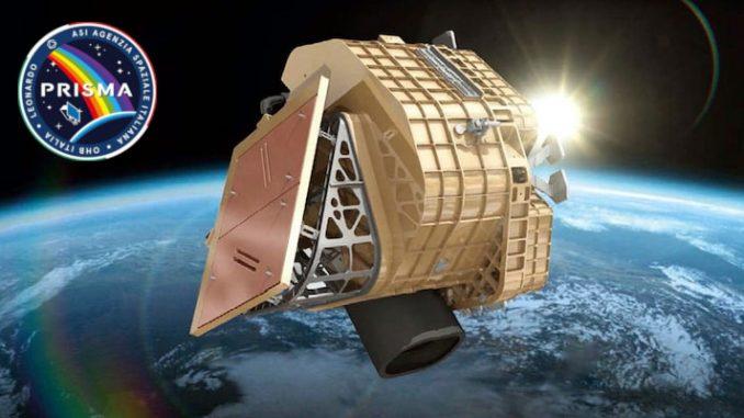 Primi dati dal satellite ambientale italiano Prisma