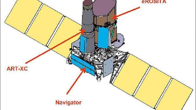In fase di lancio il telescopio eRosita per studiare l'energia oscura