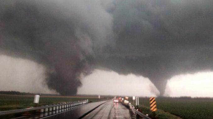 Cambiamenti climatici e tornado negli USA