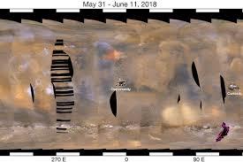 Studio su formazioni di ematite per capire Marte