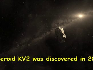 Oggi l'asteroide KV2 2008 passa vicino la Terra