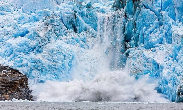 Circoli viziosi: la fusione dei grandi ghiacciai terrestri provoca l'innalzamento del livello dei mari, e l'innalzamento dei mari aumenta la velocità di scioglimento dei ghiacci...