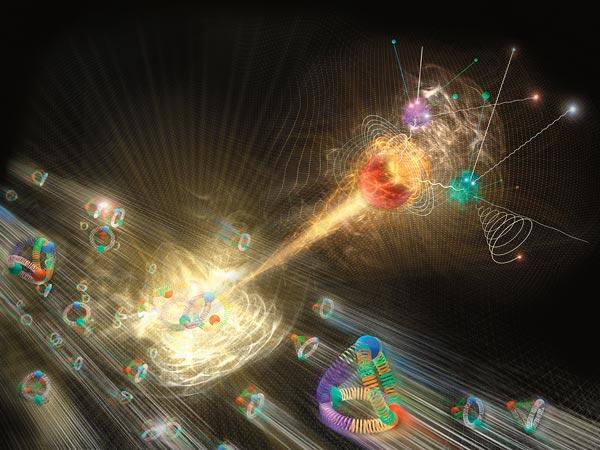 Capire le particelle anche se formate da sola energia