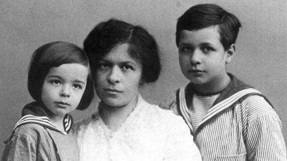 Mileva Maric e i figli