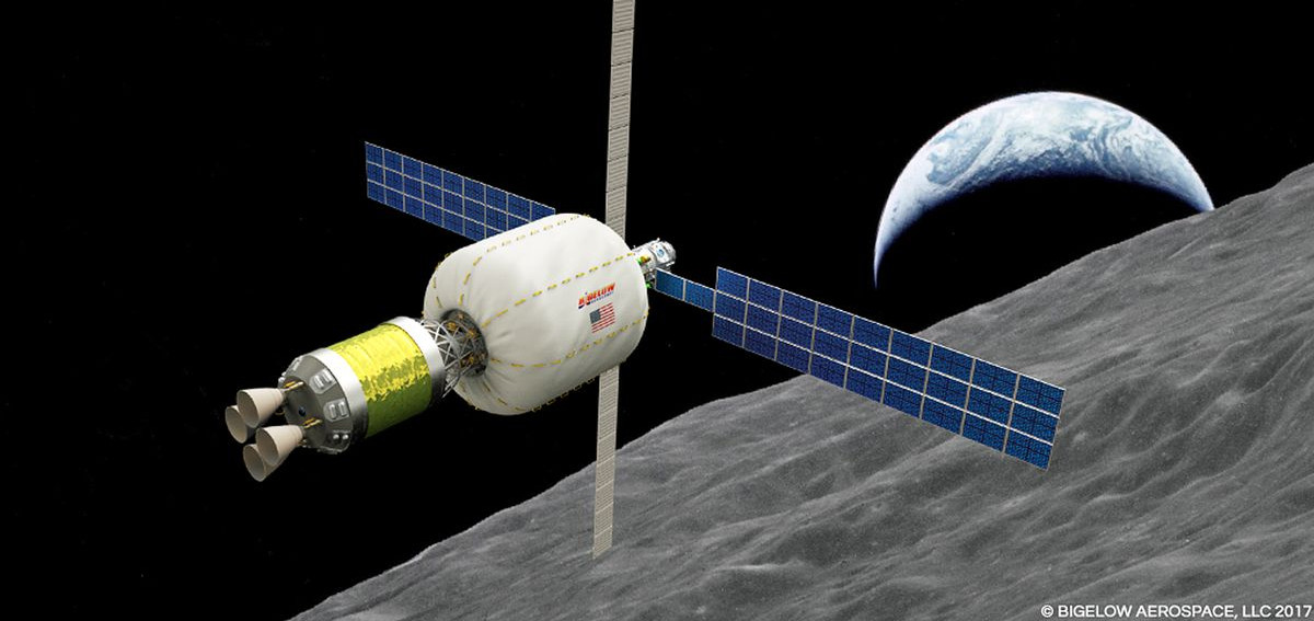 La stazione lunare sarà posta in orbita bassa lunare