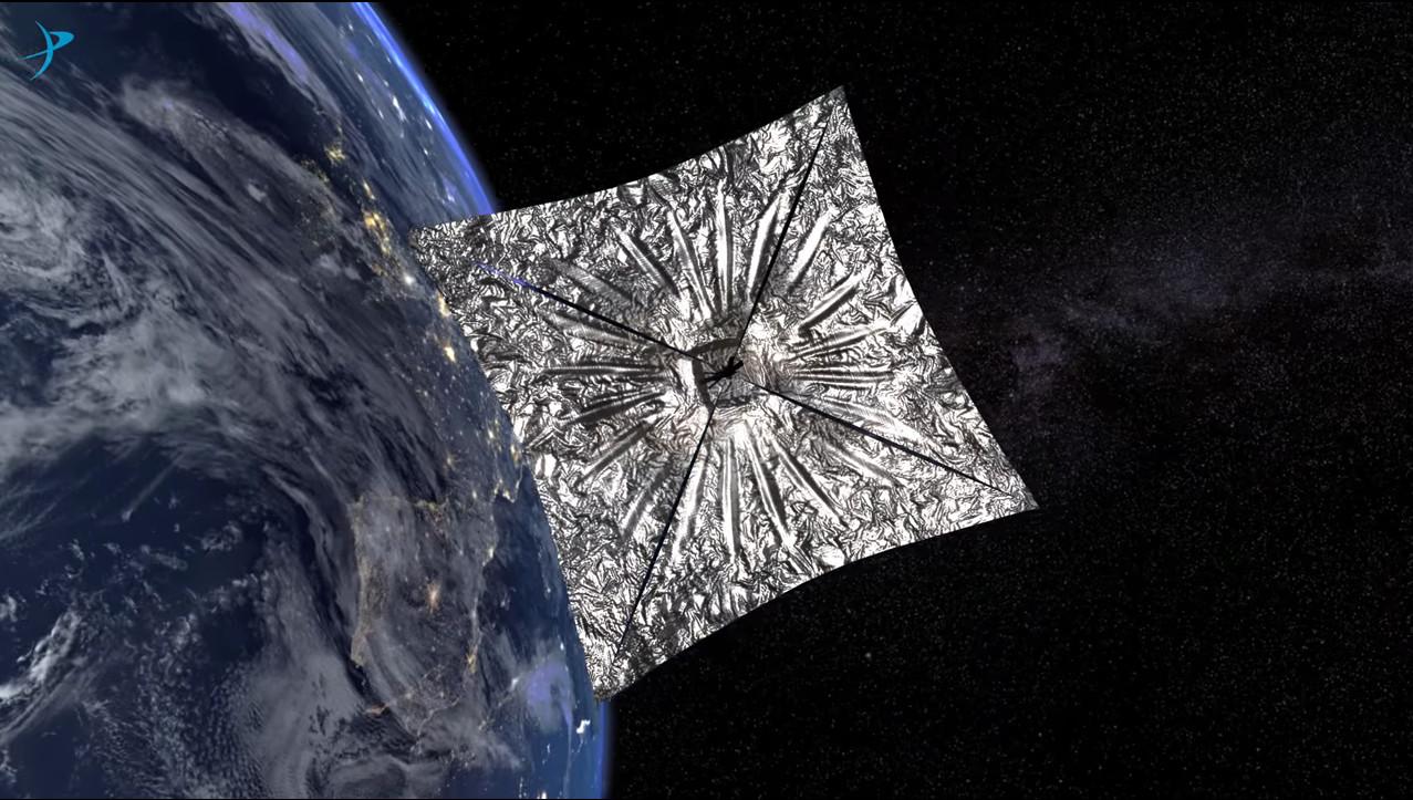 Presto il dispiegamento delle vele solari di LightSail 2