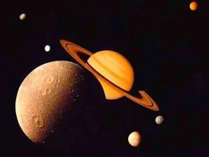 Giove e Saturno nella notte dei giganti