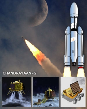 Chandrayaan-2. | ISRO