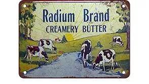 crema di burro di radio