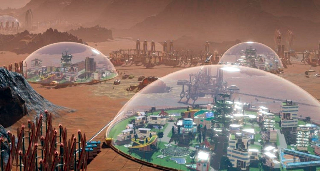 Cupole in aerogel di silice per la colonizzazione di Marte