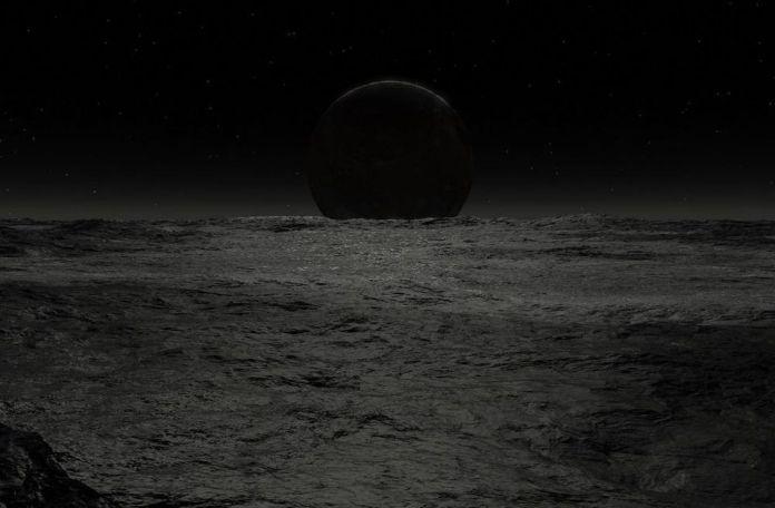 Dopo che il Sole sarà diventato una nana nera, i resti della Terra finiranno per prendere un'orbita a spirale, a causa delle radiazioni gravitazionali, e saranno inghiottiti dai resti del nostro Sole. – IMMAGINE GENTILMENTE CONCESSA DA JEFF BRYANT