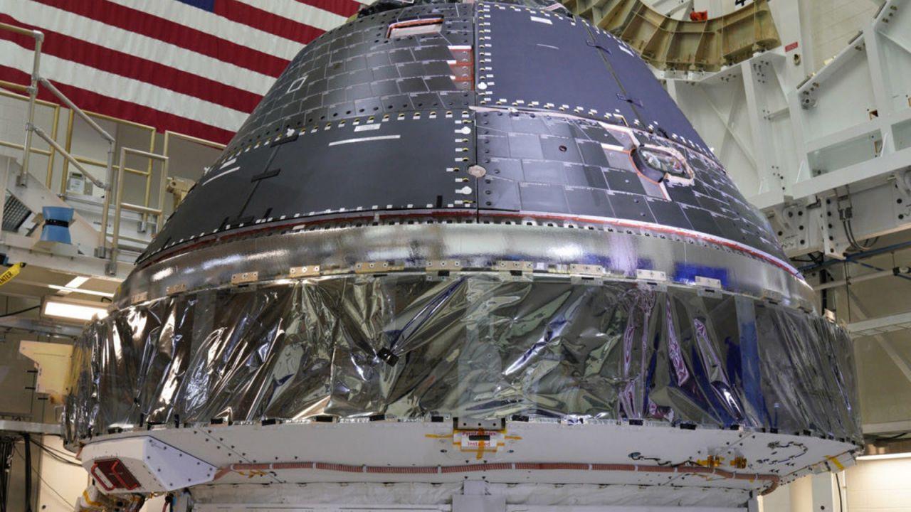 La NASA è sempre più vicina al ritorno sulla Luna: completata la capsula Orion