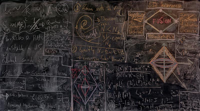 La funzione d'onda dell'Universo infinito e la meccanica quantistica