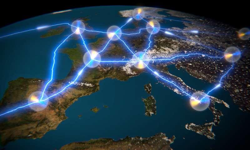 Trasmettere informazioni quantistiche fra due computer