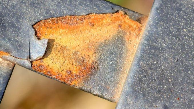 ossido di ferro o ruggine