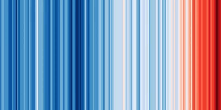 Il riscaldamento globale si vede a colori