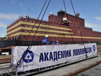Akademik Lomonosov, la centrale nucleare galleggiante russa