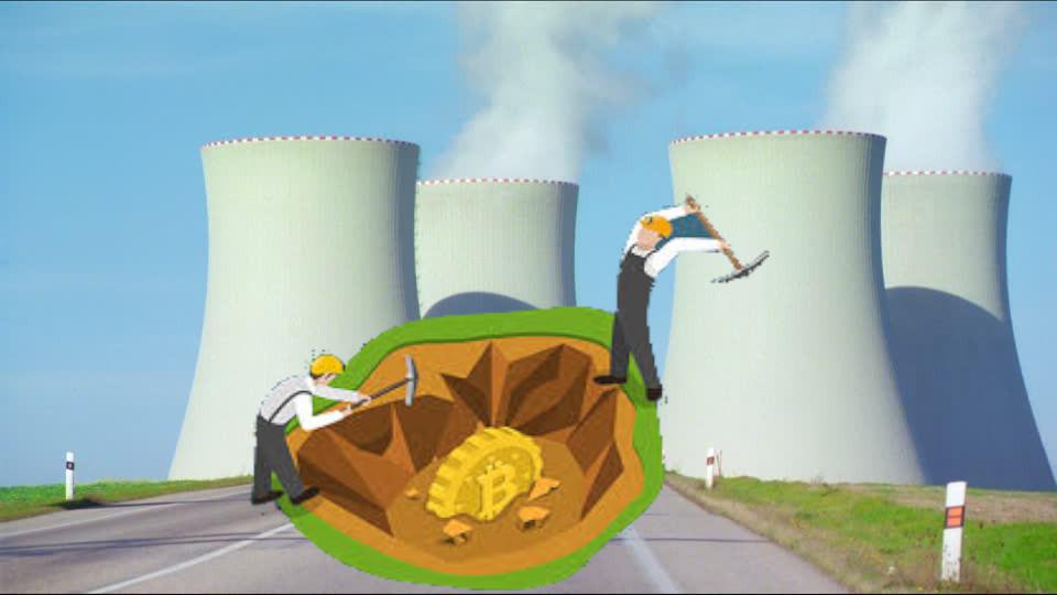 Dipendenti minavano bitcoin all'interno della centrale nucleare