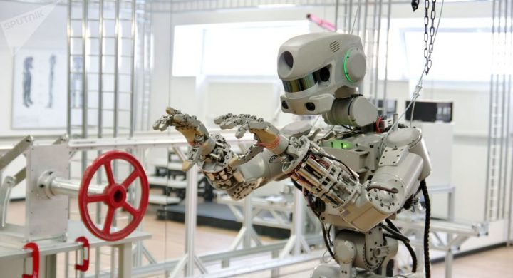 Roscosmos: il robot Skybot dell'ISS