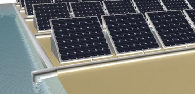 Speciali pannelli fotovoltaici potrebbero produrre contemporaneamente corrente elettrica e acqua potabile.|Peng Wang
