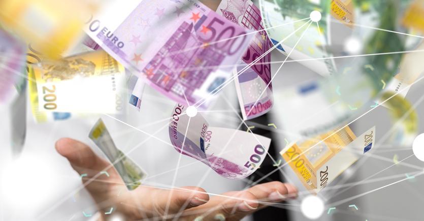 Pioggia di moneta sui conti correnti contro la recessione