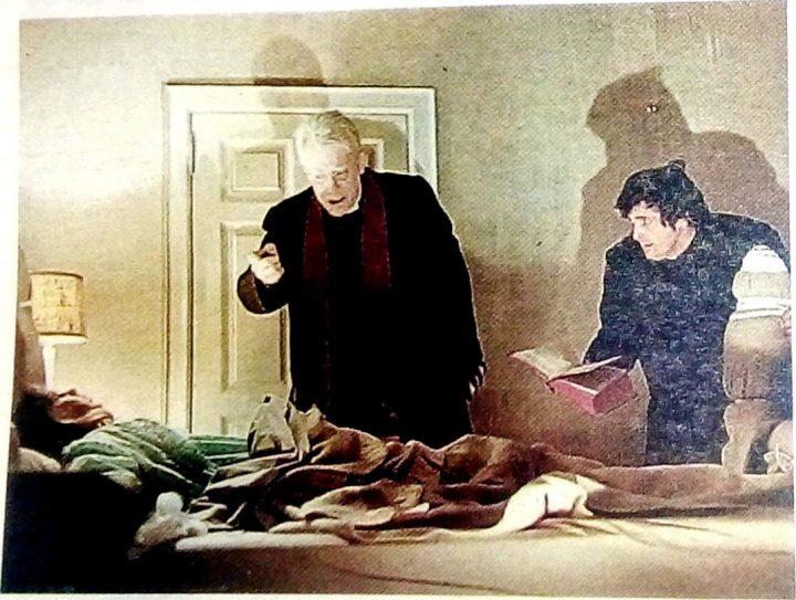 IL FILM Una scena de `L'esorcista', uscito nelle sale nel 1973