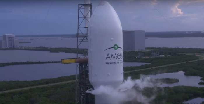 AMOS-17 dovrebbe restare operativo per almeno 20 anni, consentendo così un servizio duraturo e stabile.