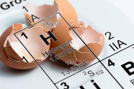 Idrogeno a basso costo dai gusci di uova