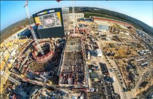 L'immenso cantiere di ITER, in Francia.
