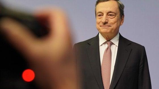 Mario Draghi, governatore uscente della Banca centrale europea(ansa)