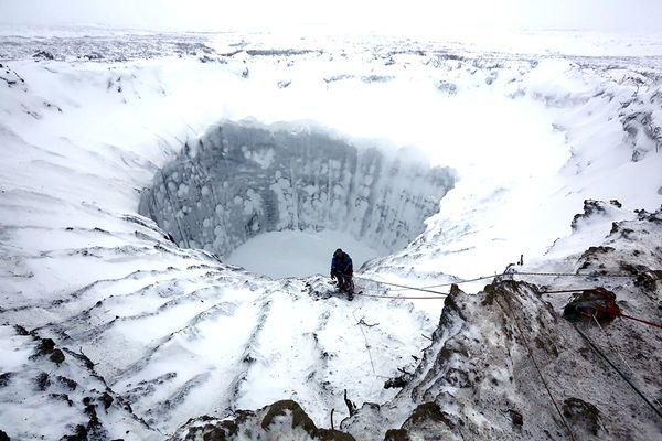 Continua ad esstendersi la porta dell'Inferno siberiana