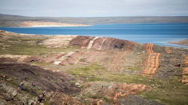Le rocce di Belcher Island in Canada, sede dei ritrovamenti (Malcolm Hodgskiss)