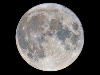 Minimo solare ed emissione di raggi gamma dalla Luna