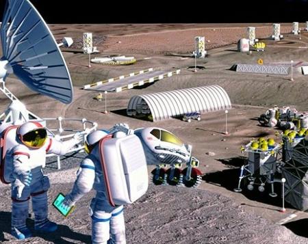 Alla ricerca di metalli preziosi in miniere lunari