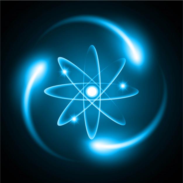 Dedotto, grazie alla sua frequenza energetica, il raggio del protone