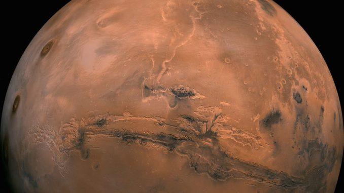 Un'immagine di Marte fornita dalla NASA. NASA via AP