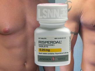 Farmaco antipsicotico provoca la ginecomastia maschile