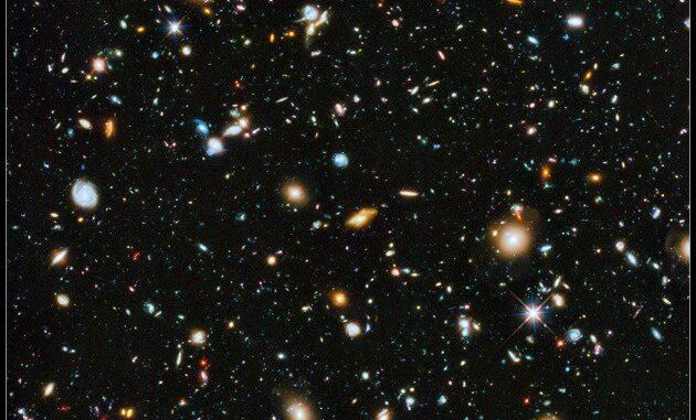 Una piccola, piccola porzione di Spazio e 10.000 galassie, e tutte si muovono, ognuna rispetto a tutte le altre. A quale velocità?|Hubble / Nasa / Esa