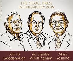 Il nobel per la chimica agli inventori delle batterie al litio